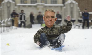 Bill On Sled
