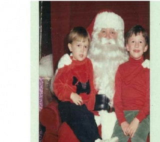 Will And Ken With Santa
